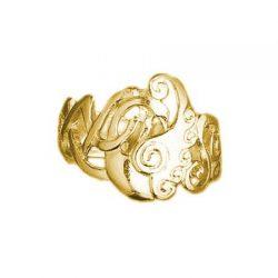 Children of Lir 9K yellow gold ring