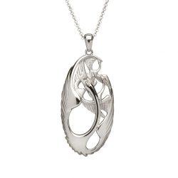 Children of Lir Sterling Silver Necklace