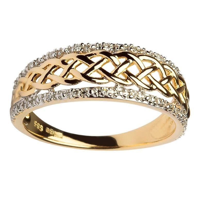 Diamond Armani Ring