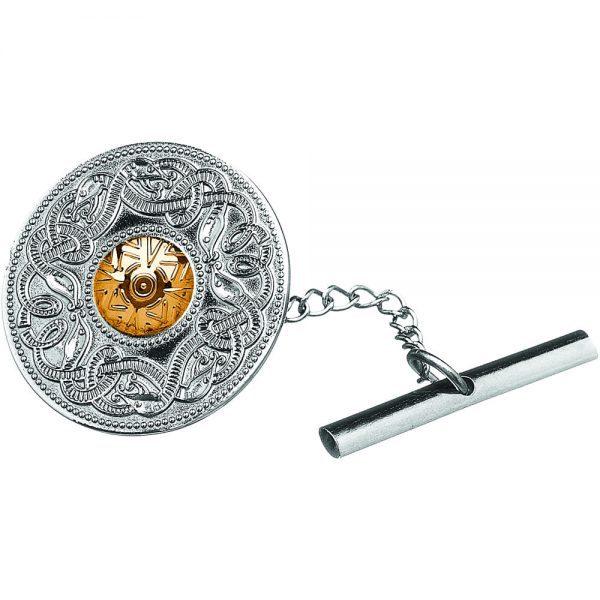 celtic warrior tie pin