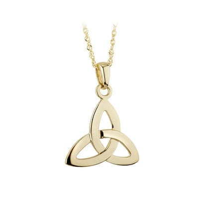 Trinity Knot Pendant In Gold