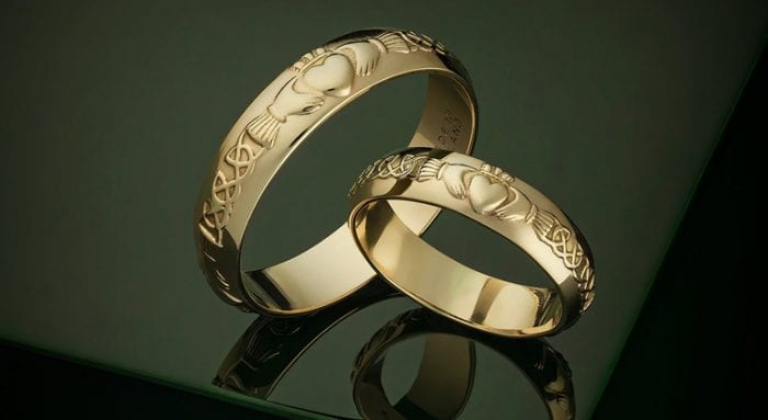 claddagh and celtic Irish weddings