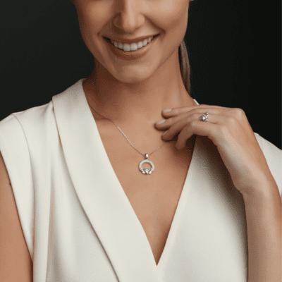 Claddagh Birthstone Jewelry