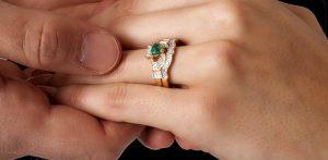 Claddagh Bridal Ring